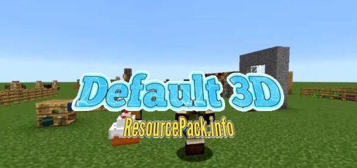 Default 3D Resource Pack 1.17.1