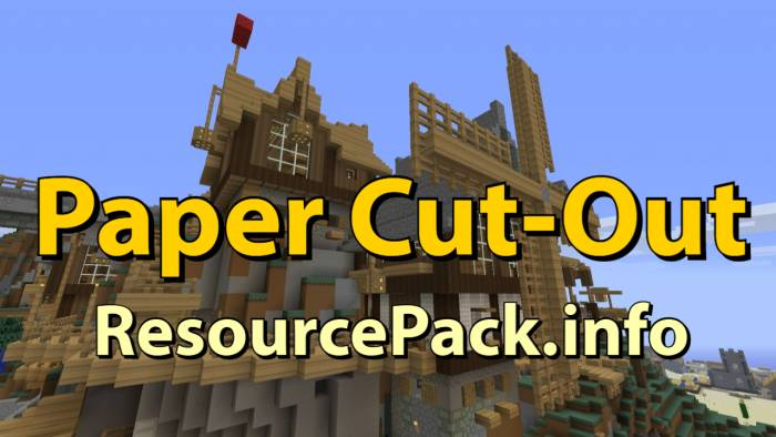 Paper Cut-Out 1.16.5