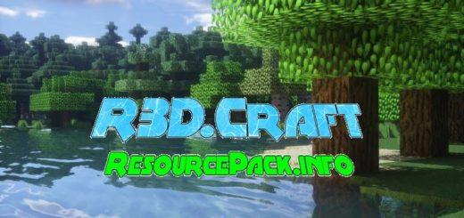 R3D.Craft Resource Pack 1.17.1