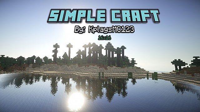 SimpleCraft Resource pack 1.11