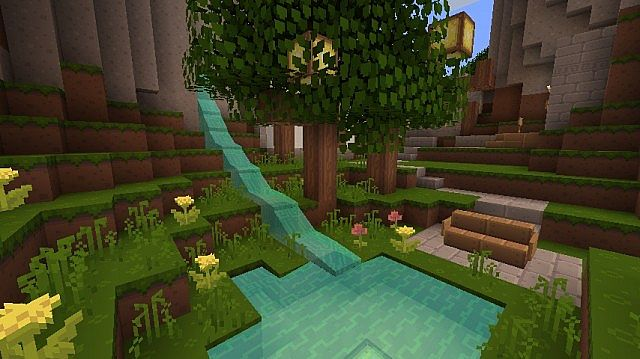 Dandelion Resource Pack 1.14.4