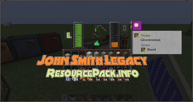 John Smith Legacy 1.16.1