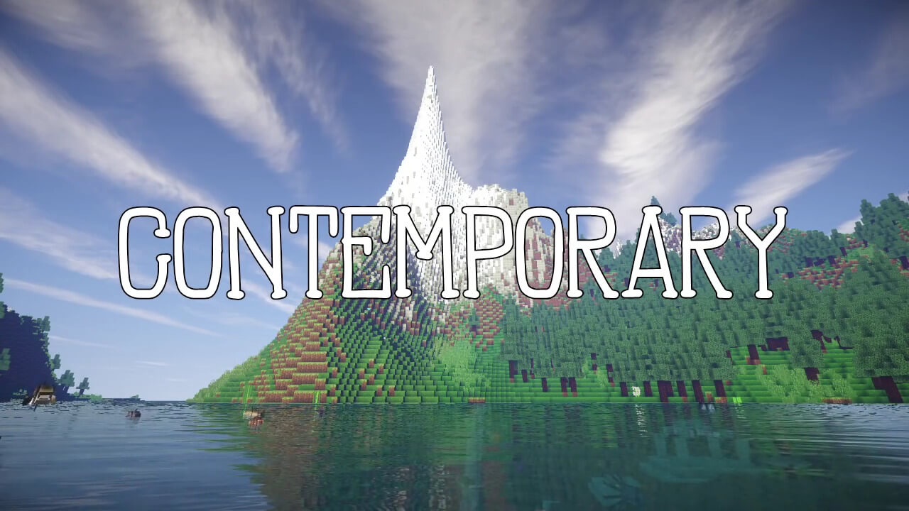 Contemporary Resource pack for 1.16.5
