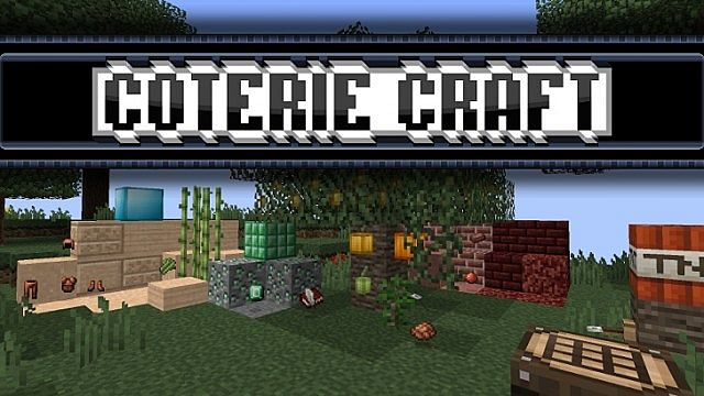 Coterie Craft Resource Pack for 1.13.1/1.13/1.12.2/1.11.2/1.10.2