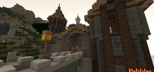 Pebbles 3D Resource Pack for 1.16.5