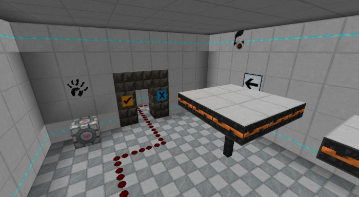 Precisely Portal Resource Pack for 1.13.1/1.13/1.12.2/1.11.2/1.10.2