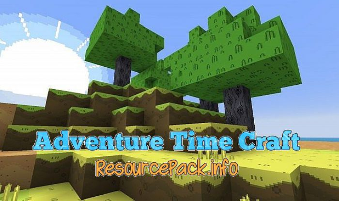 Adventure Time Craft Resource Pack For 1 15 2 1 14 4 1 13 2