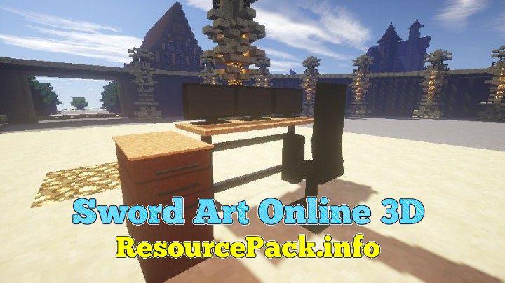 Sword Art Online 3D 1.16.5