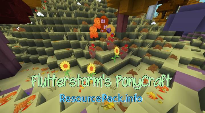 Flutterstorm's PonyCraft 1.10.2