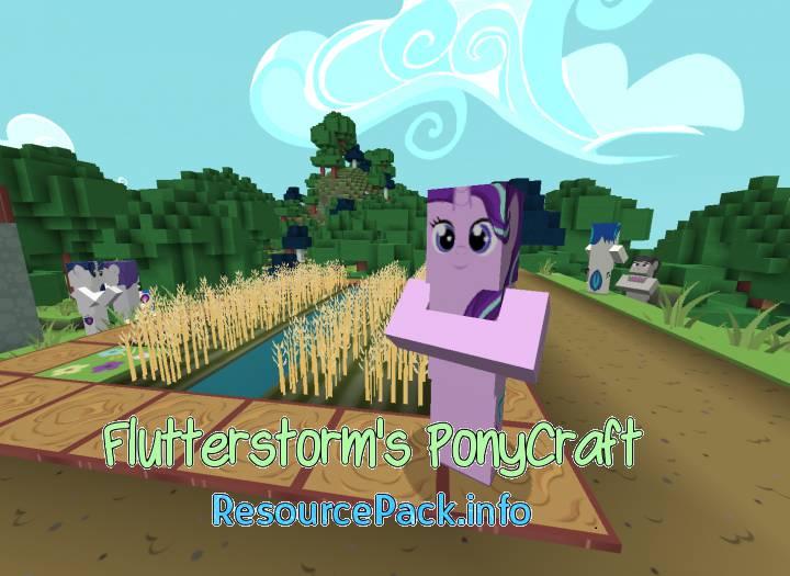 Flutterstorm's PonyCraft 1.13