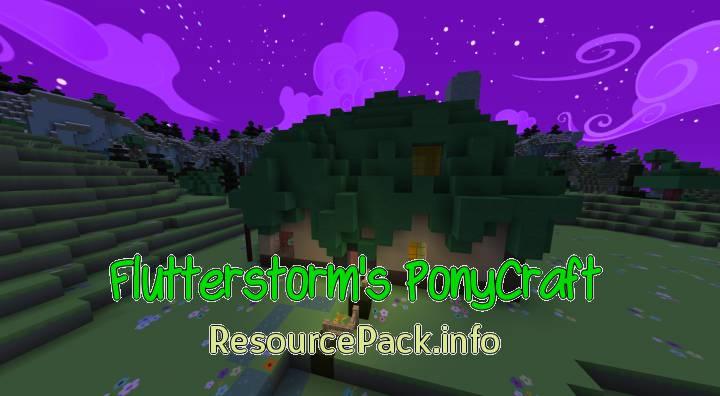 Flutterstorm's PonyCraft 1.8.9