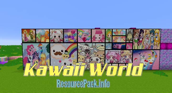 kawaii texture pack