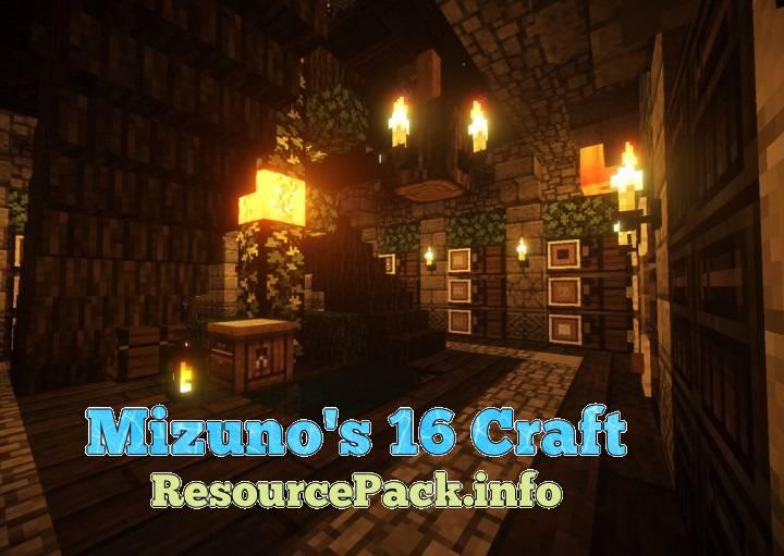 Mizuno's 16 Craft 1.11.2