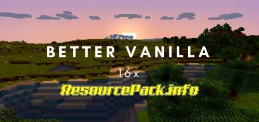 Better Vanilla 1.16.5