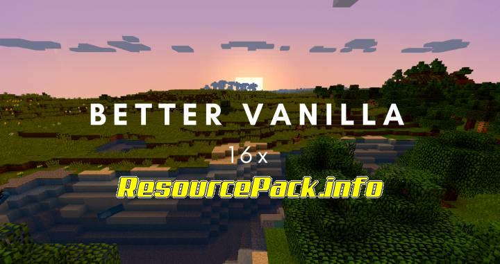 Better Vanilla 1.17.1