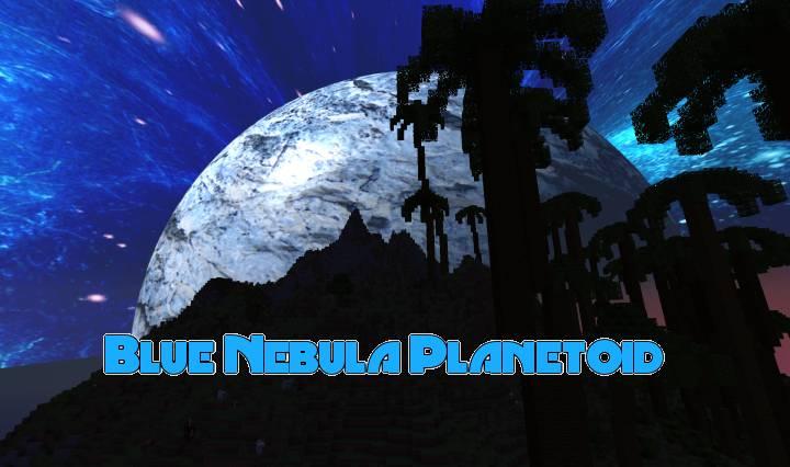 Blue Nebula Planetoid 1.11.2