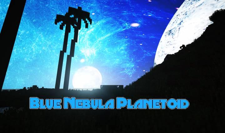 Blue Nebula Planetoid 1.13