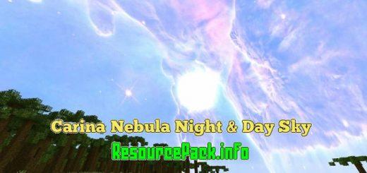 Carina Nebula Night & Day Sky 1.16.5