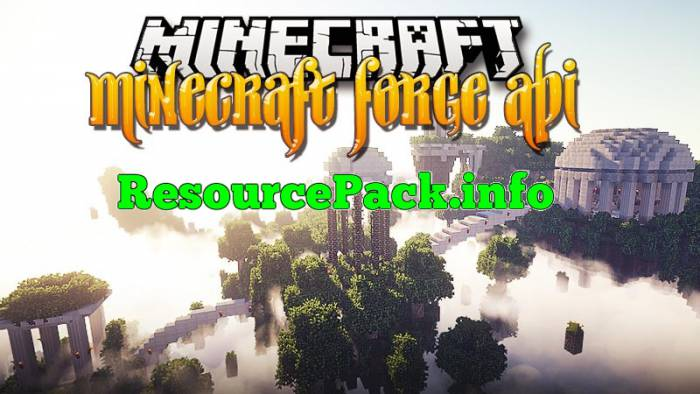Minecraft Forge API 1.16.3