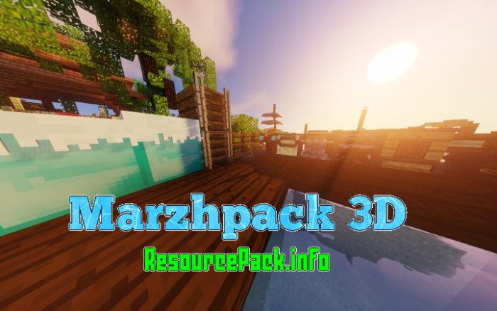 Marzhpack 3D 1.16.5