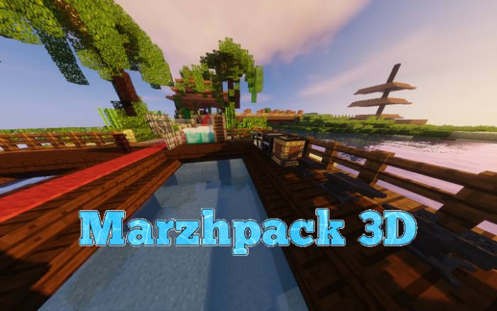 Marzhpack 3D 1.12.2