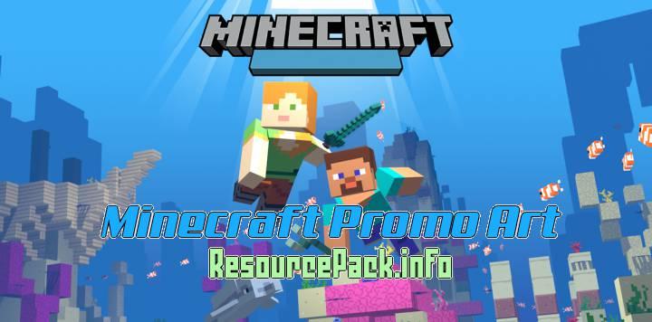Minecraft Promo Art 1.15.2