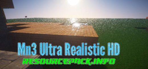 Mn3 Ultra Realistic HD 1.15.2