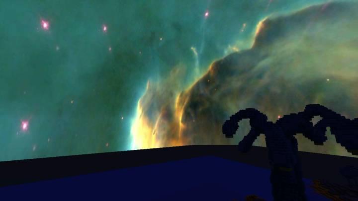 Pillars of Creation Night & Day Sky 1.11.2