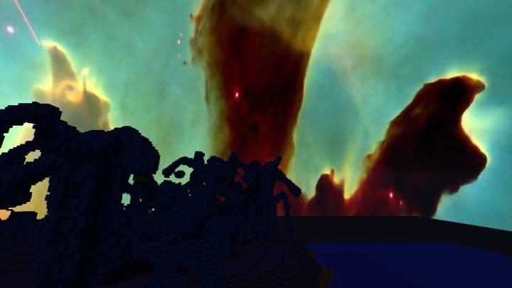 Pillars of Creation Night & Day Sky 1.13
