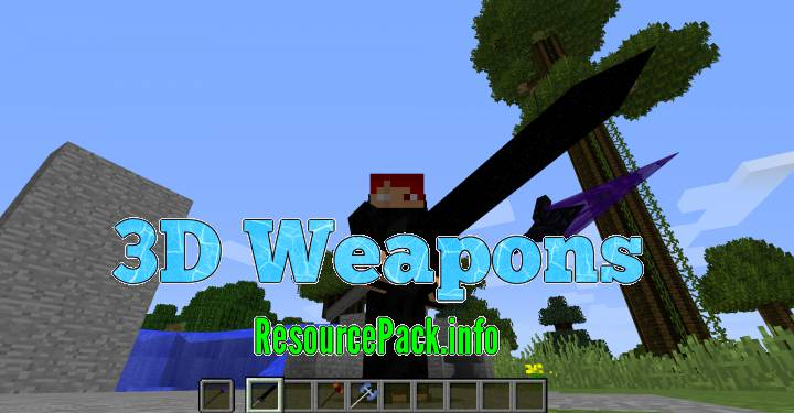 3D Weapons 1.15.2