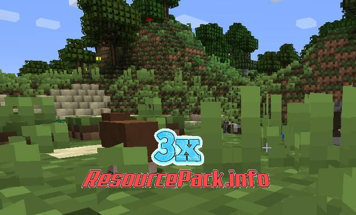 3x Resource Pack 1.17.1