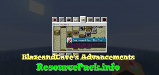 BlazeandCave's Advancements 1.16.5