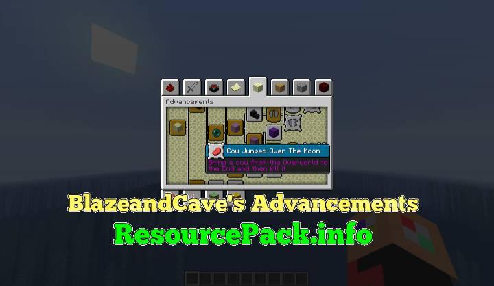 BlazeandCave's Advancements 1.17.1