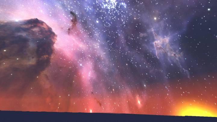 Hidden Carina Nebula Custom Sky 1.12.2