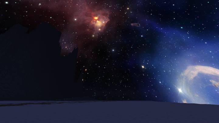 Hidden Carina Nebula Custom Sky 1.13.2