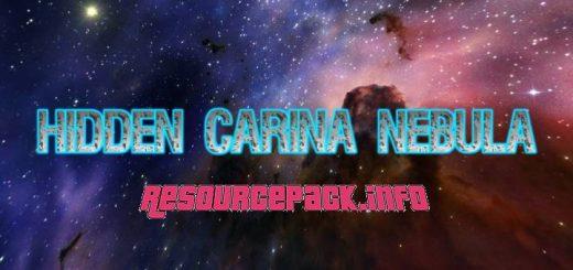 Hidden Carina Nebula Custom Sky 1.17.1