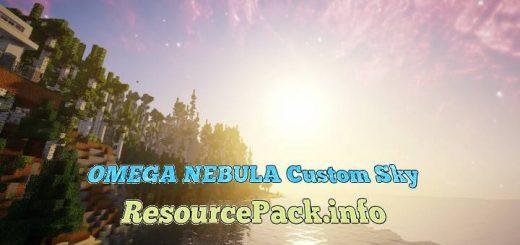 OMEGA NEBULA Custom Sky 1.15.2