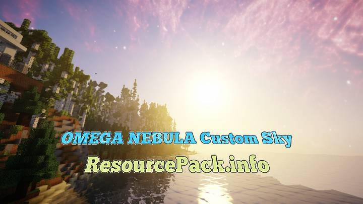 OMEGA NEBULA Custom Sky 1.16.5