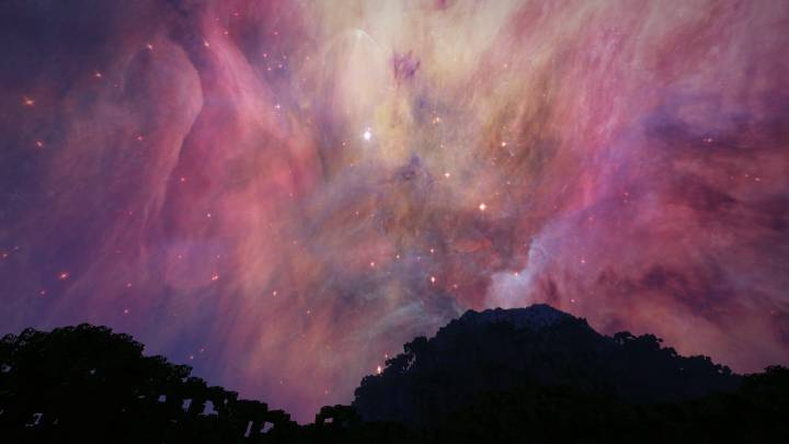 ORION NEBULA A Night & Day Sky 1.12.2
