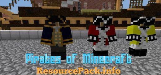 Pirates Of Minecraft 1.17.1