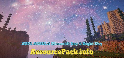 SOUL NEBULA Minecraft Day & Night Sky 1.16.5