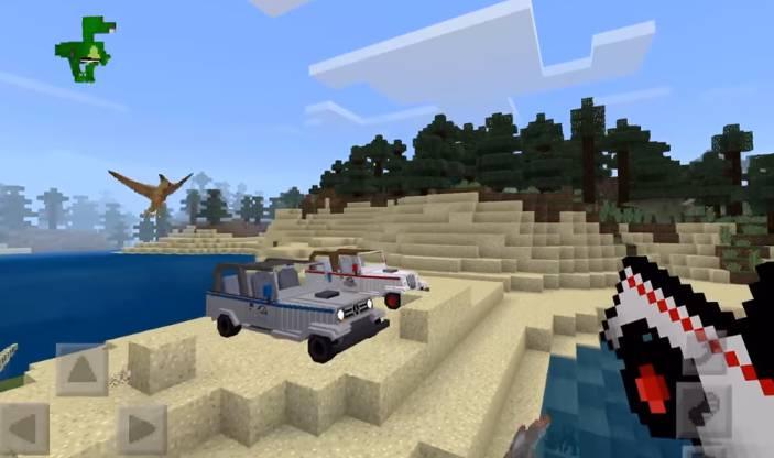 Jurassic Craft Jeep