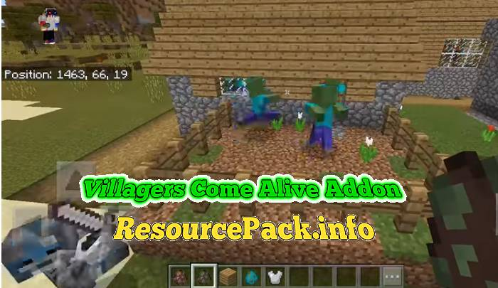 Villagers Come Alive Addon