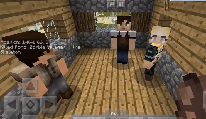 Villagers Come Alive Skeleton