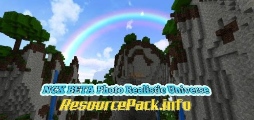 NCX BETA Photo Realistic Universe 1.15.2
