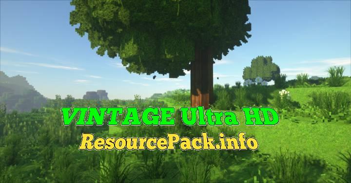 VINTAGE Ultra HD 1.17.1