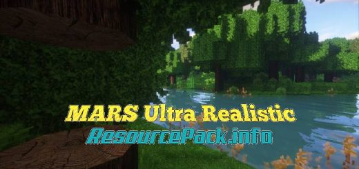 MARS Ultra Realistic 1.17.1