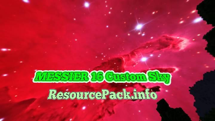 MESSIER 16 Custom Sky 1.16.5