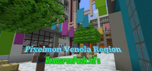 Pixelmon Venola Region 1.14