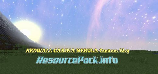 REDWALL CARINA NEBULA Custom Sky 1.17.1